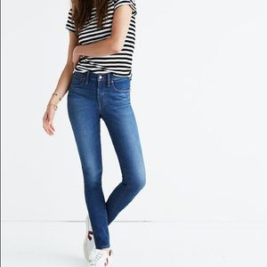 Madewell 9 inch skinny jeans!